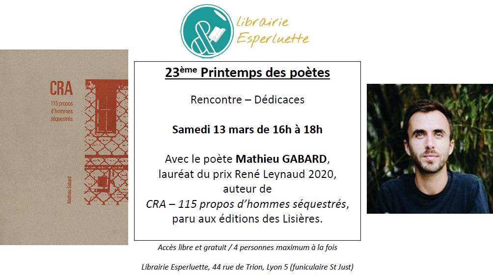 Read more about the article 23ème printemps des poètes