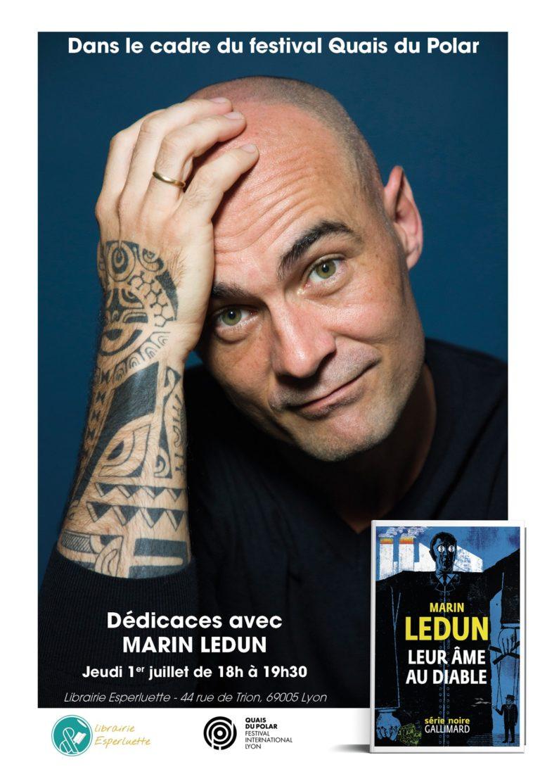 Read more about the article Quais du Polar / Dédicaces avec Marin Ledun